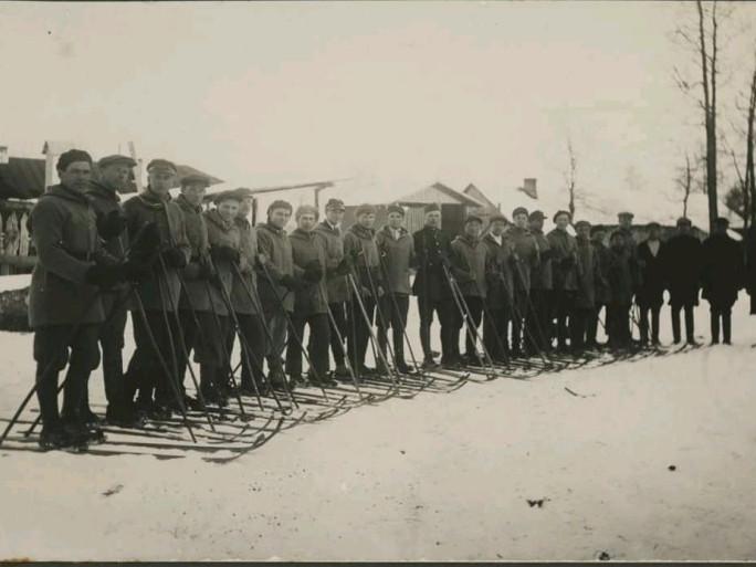 Лижники 1933 року