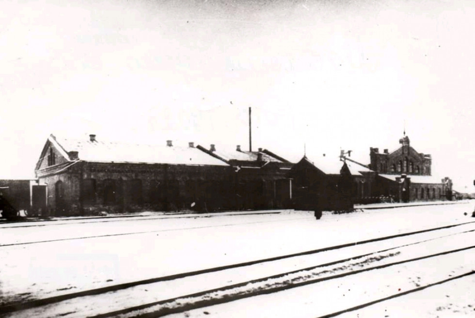 Депо на станції Сарни 1902 рік