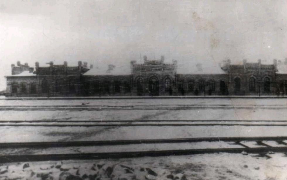 Вокзал міста Сарни 1902 рік