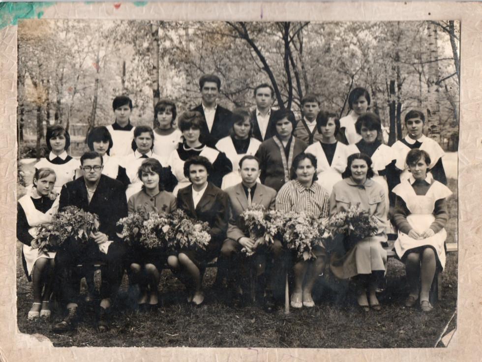 Школа № 2, випускники 1965 рік