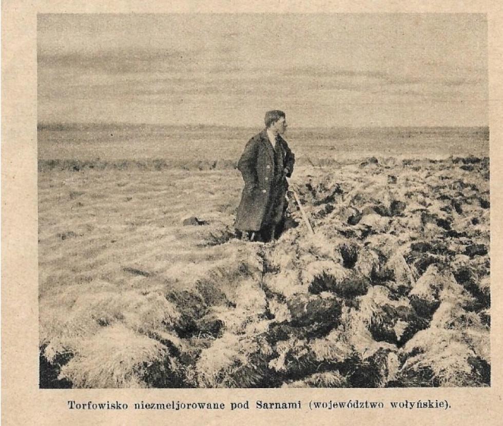 Торфовище поблизу Сарн, 1920-ті роки.