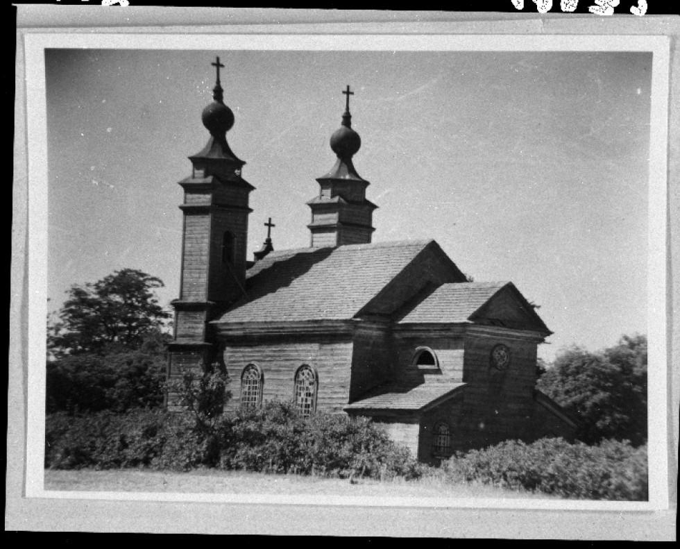 Другої світової війни у 1945 році святиню знищили