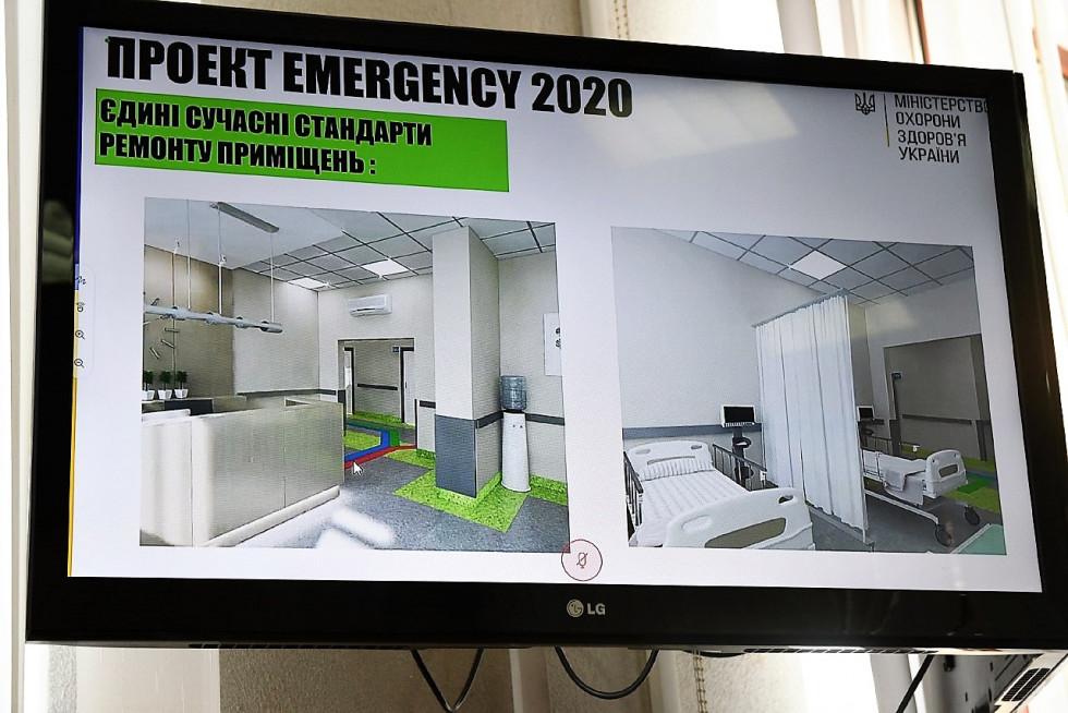 Єдиний брендбук урядового проєкту «EMERGENCY 2020»