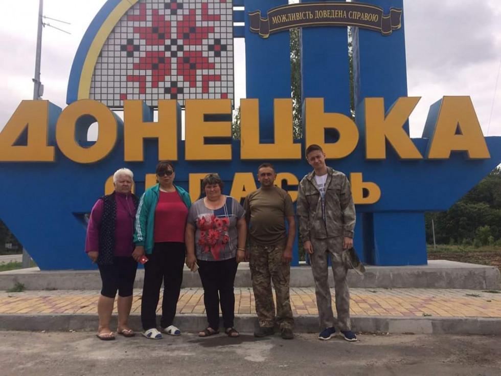 Сарненські волонтери на Донбасі