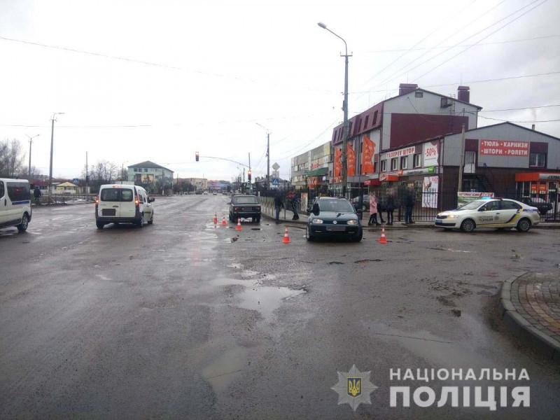Аварія в Сарнах