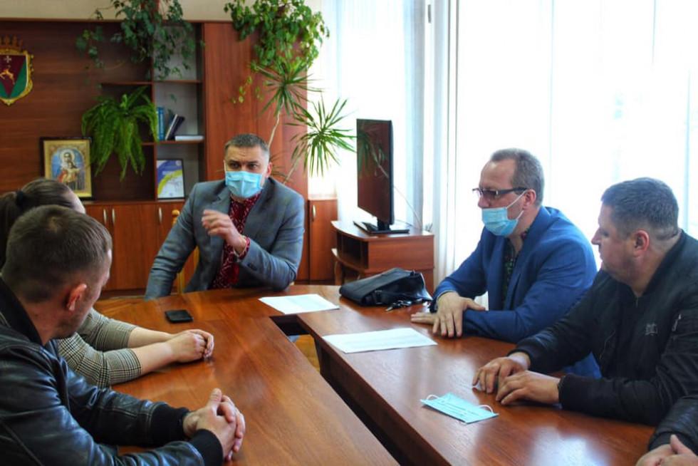 фото з зустрічі з підприємцями