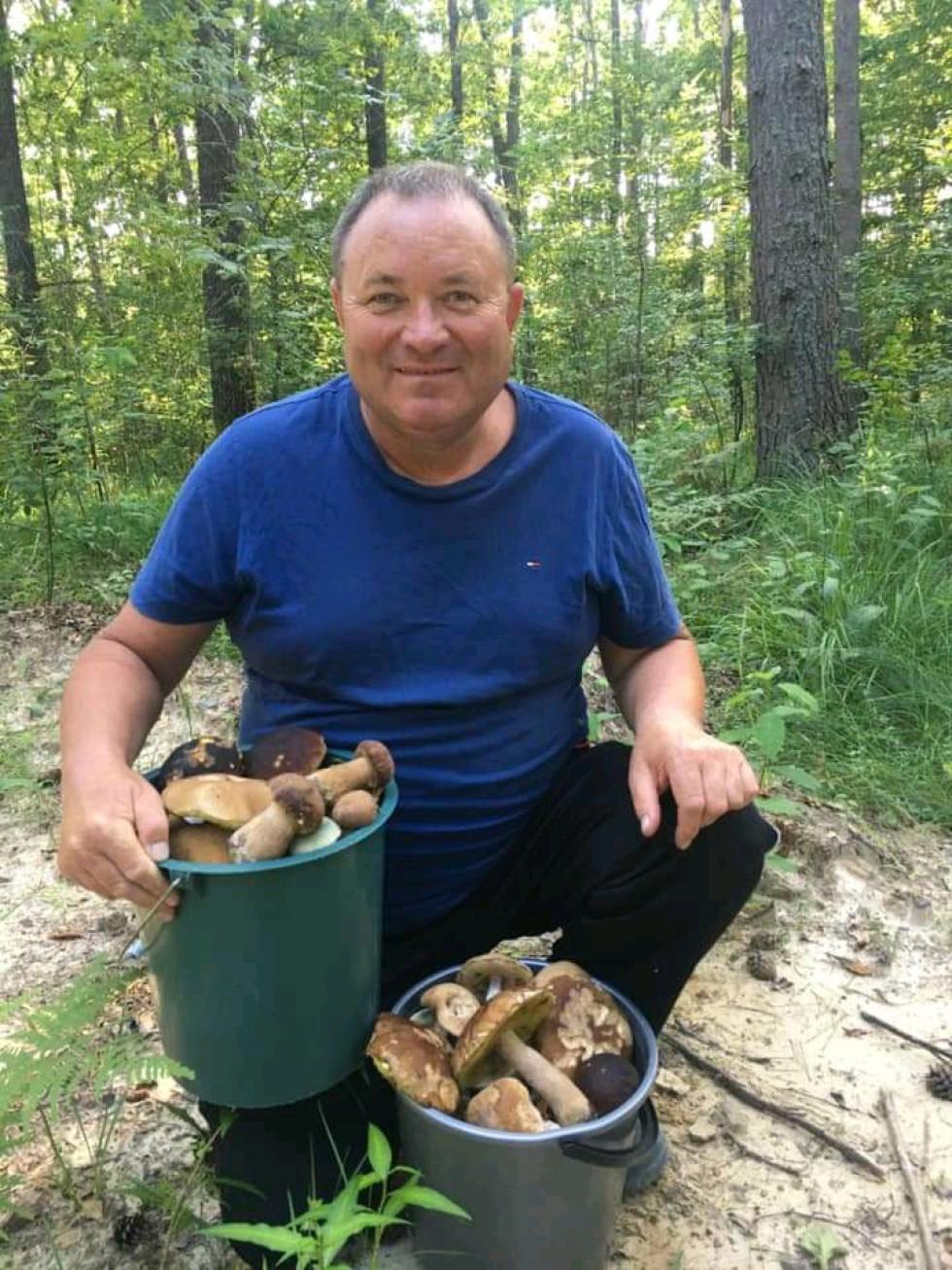 Грибні знахідки Миколи Драганчука